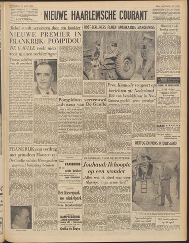 Nieuwe Haarlemsche Courant 1962-04-12