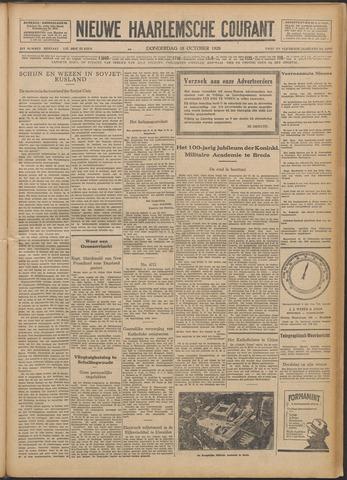 Nieuwe Haarlemsche Courant 1928-10-18