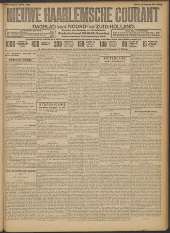 Nieuwe Haarlemsche Courant 1913-09-19