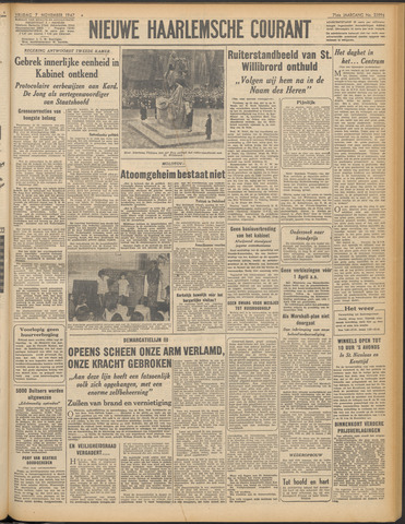 Nieuwe Haarlemsche Courant 1947-11-07