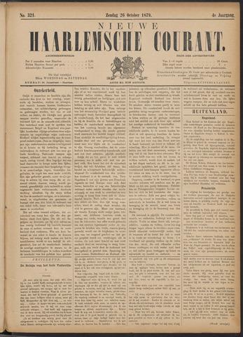 Nieuwe Haarlemsche Courant 1879-10-26
