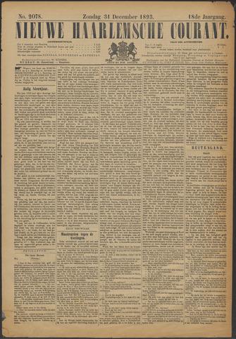 Nieuwe Haarlemsche Courant 1893-12-31