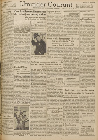 IJmuider Courant 1948-05-25