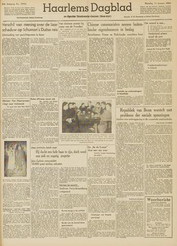 Haarlem's Dagblad 1950-01-16