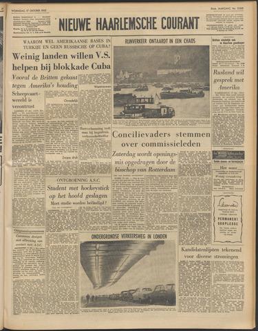 Nieuwe Haarlemsche Courant 1962-10-17