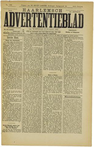 Haarlemsch Advertentieblad 1889-12-18