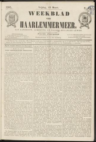 Weekblad van Haarlemmermeer 1863-03-13