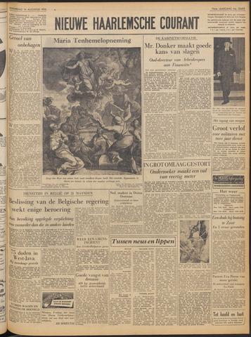 Nieuwe Haarlemsche Courant 1952-08-14