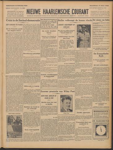 Nieuwe Haarlemsche Courant 1933-07-17