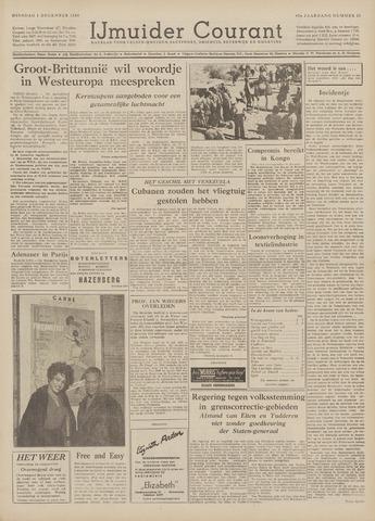 IJmuider Courant 1959-12-01