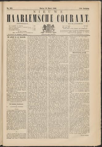 Nieuwe Haarlemsche Courant 1886-03-28
