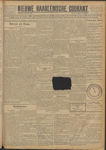 Nieuwe Haarlemsche Courant 1927-09-19