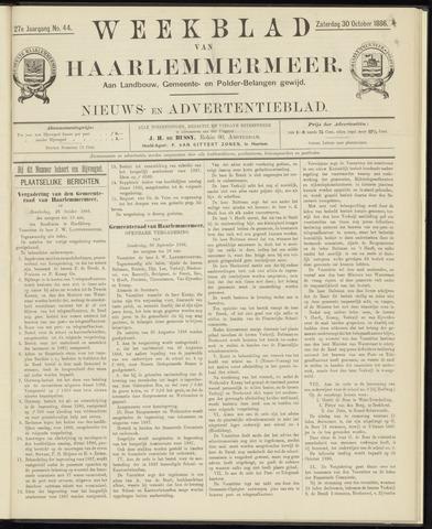 Weekblad van Haarlemmermeer 1886-10-30