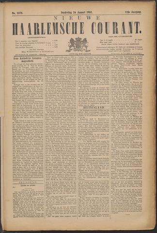 Nieuwe Haarlemsche Courant 1887-01-20