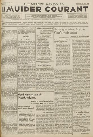 IJmuider Courant 1938-11-14