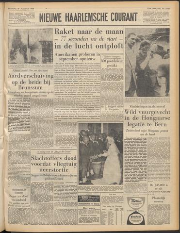 Nieuwe Haarlemsche Courant 1958-08-18