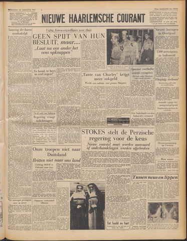 Nieuwe Haarlemsche Courant 1951-08-22