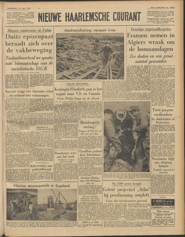 Nieuwe Haarlemsche Courant 1957-06-12