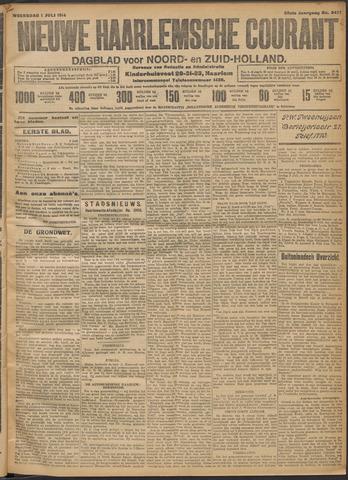 Nieuwe Haarlemsche Courant 1914-07-01