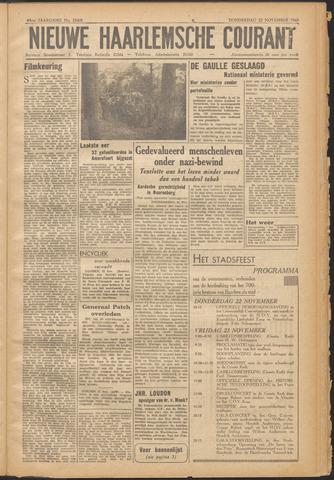 Nieuwe Haarlemsche Courant 1945-11-22