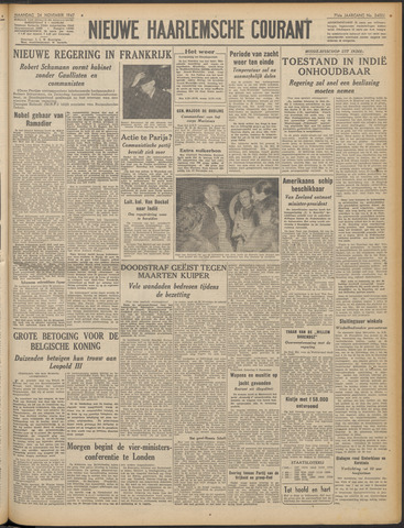 Nieuwe Haarlemsche Courant 1947-11-24