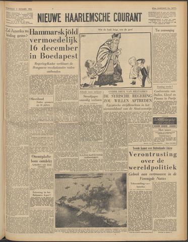Nieuwe Haarlemsche Courant 1956-12-05