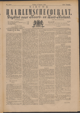 Nieuwe Haarlemsche Courant 1897-01-15