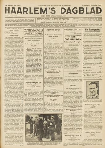 Haarlem's Dagblad 1935-09-04