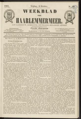 Weekblad van Haarlemmermeer 1863-10-02
