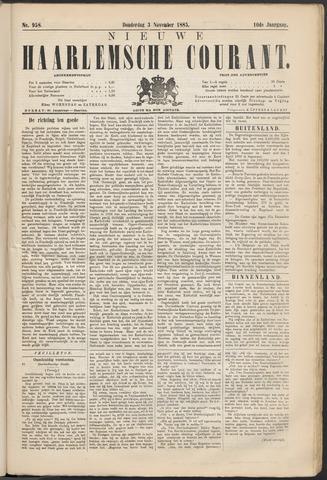 Nieuwe Haarlemsche Courant 1885-12-03