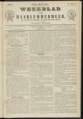 Weekblad van Haarlemmermeer 1879-11-28