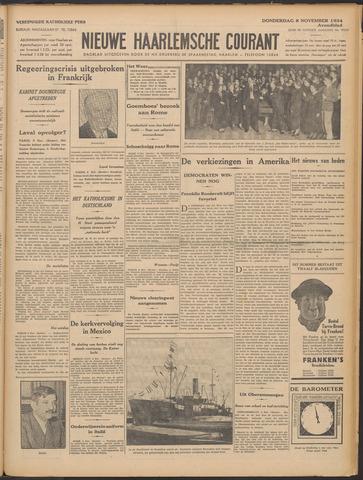 Nieuwe Haarlemsche Courant 1934-11-08