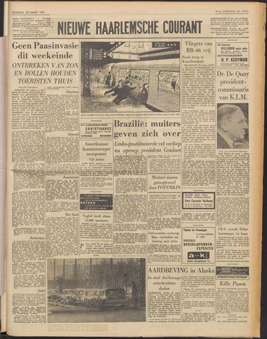 Nieuwe Haarlemsche Courant 1964-03-28