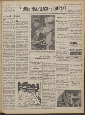 Nieuwe Haarlemsche Courant 1940-09-18