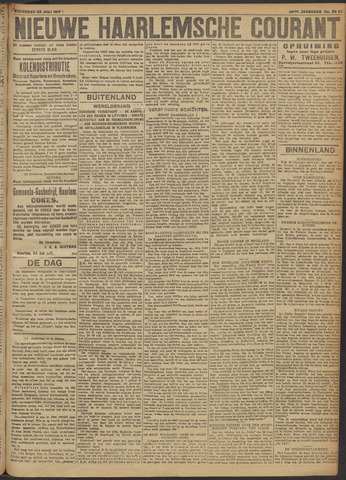 Nieuwe Haarlemsche Courant 1917-07-25