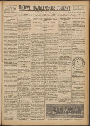 Nieuwe Haarlemsche Courant 1928-02-13