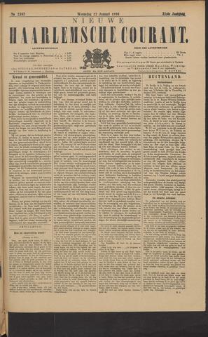 Nieuwe Haarlemsche Courant 1896-01-22