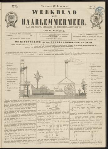 Weekblad van Haarlemmermeer 1869-01-29