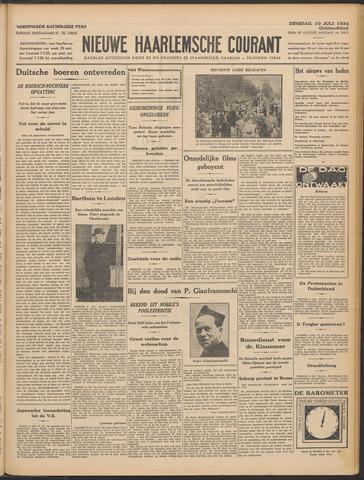 Nieuwe Haarlemsche Courant 1934-07-10