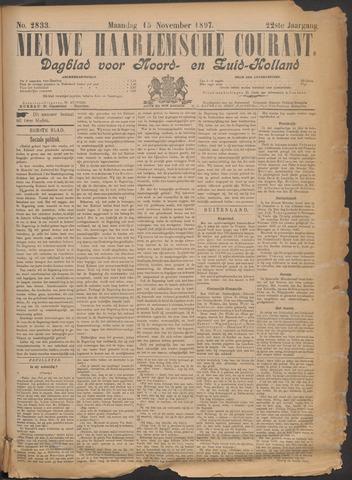 Nieuwe Haarlemsche Courant 1897-11-15