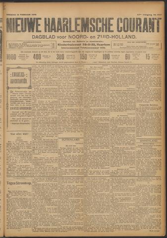 Nieuwe Haarlemsche Courant 1909-02-16