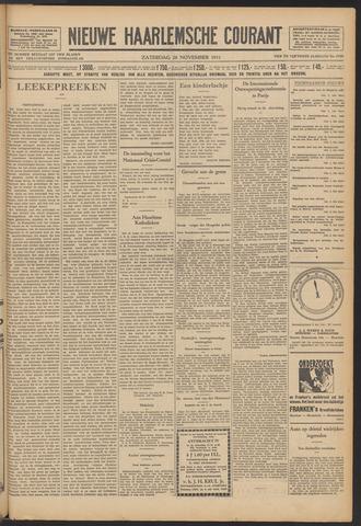 Nieuwe Haarlemsche Courant 1931-11-28