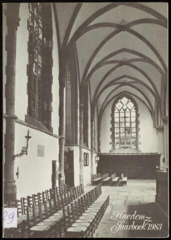 Jaarverslagen en Jaarboeken Vereniging Haerlem 1983