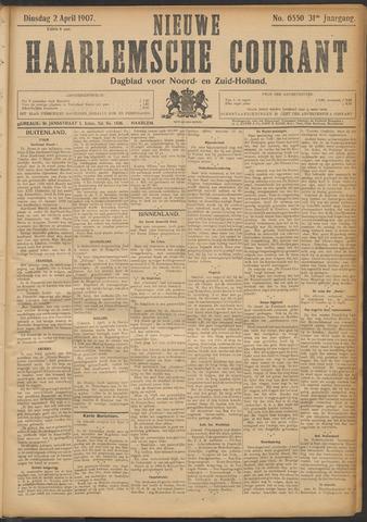 Nieuwe Haarlemsche Courant 1907-04-02