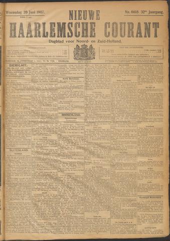 Nieuwe Haarlemsche Courant 1907-06-26