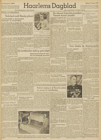 Haarlem's Dagblad 1947-01-17