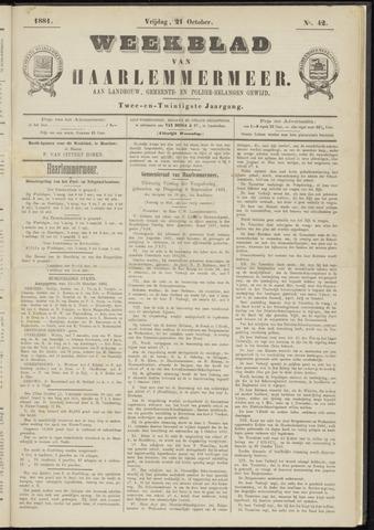 Weekblad van Haarlemmermeer 1881-10-21