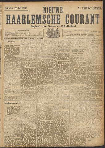 Nieuwe Haarlemsche Courant 1907-07-27