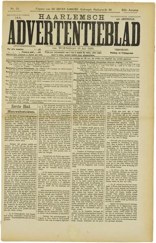 Haarlemsch Advertentieblad 1889-07-10