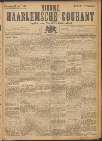 Nieuwe Haarlemsche Courant 1907-01-19